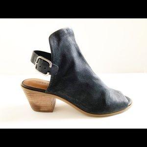 🔥Lucky Brand Black Bootie Bray Heels